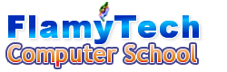 FlamyTech Computer Training Logo